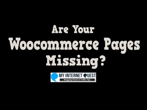 Are Your Woocommerce Pages Tab Missing?