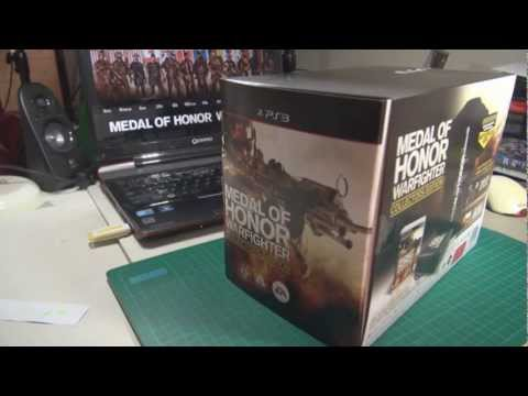 Medal of Honor Warfighter COLLECTORS EDITION (PS3 Unboxing) [HD]