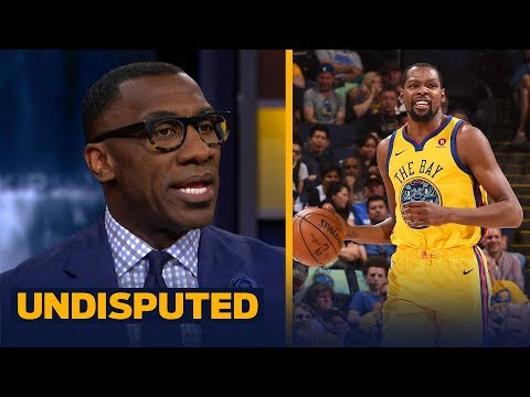 Shannon Sharpe reacts to Kevin Durant's 5th ejection in Golden State's loss | UNDISPUTED