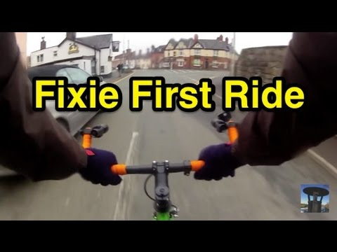 Fixie First Ride and Commentary!