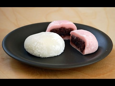 How to Make Japanese Mochi Daifuku - Easy and Simple! No Steam Needed!