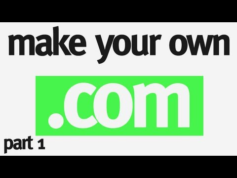 Make Your Own Domain Extension Part 1: What's DNS? & Installing Bind