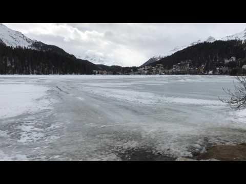St. Moritiz Switzerland Frozen Lake VS Summer Lake | iPhone 7