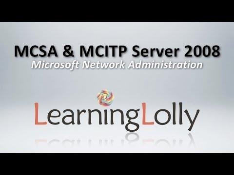 MCITP MCSA Certification