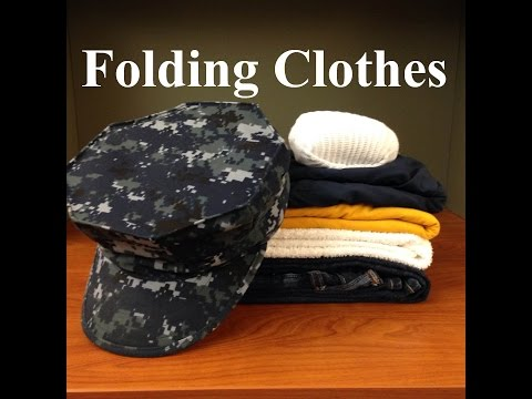 How To Fold Clothes In The Navy
