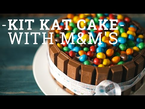 Kit Kat Cake with M&M's [BA Recipes]