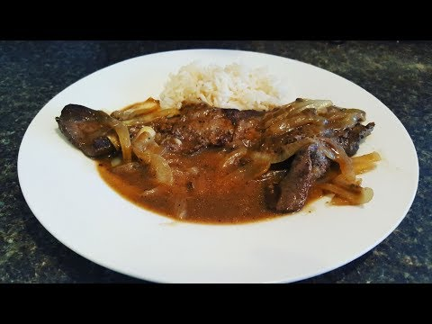 Beef Liver And Onions Recipe/ How To Make Liver And Onions