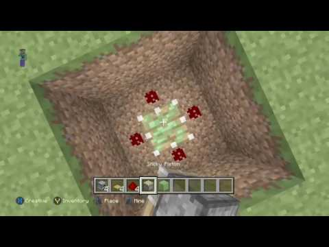 How to make a working trampoline in Minecraft