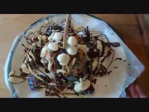GOURMET CHOCOLATE CARAMEL APPLES and APPLE BITES