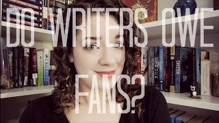 Download Do Writers Owe Fans? | Book Chat Video