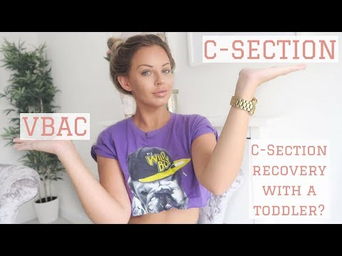 VBAC OR C-SECTION | SECOND C-SECTION RECOVERY WITH A TODDLER | Lucy Jessica Carter