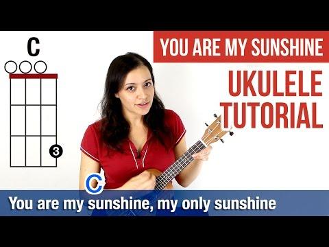 How to Play Ukulele | You Are My Sunshine (Chords)