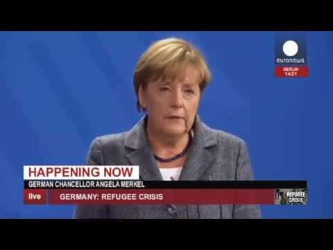 [Live footage] Germany's Merkel and Austria's Faymann on refugee crisis