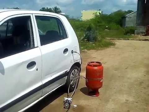 How to fill LPG in car