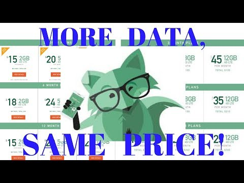 Late breaking news! MINT Mobile new data amounts announced!