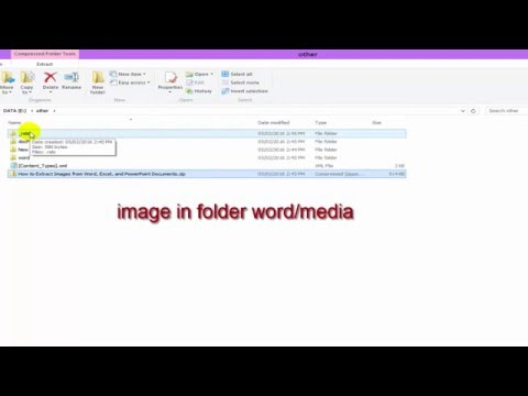 How to Extract Images, Text, and Embedded Files from Word, Excel, and PowerPoint Documents
