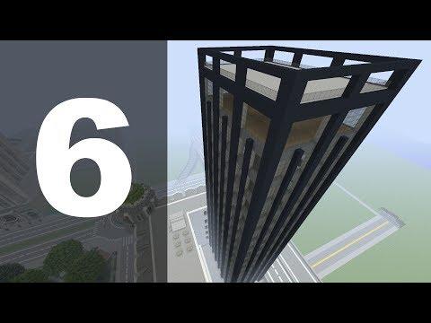 Minecraft Let's Build : 70's Style Skyscraper - Part 6