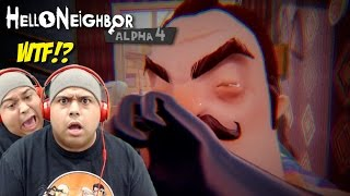I SHOT THIS MODAPH#%KA IN THE EYE!! [HELLO NEIGHBOR ALPHA 4] [ENDING?]