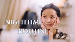 Nighttime Routine | 干皮晚间护肤步骤 | Meng Mao | Sensai