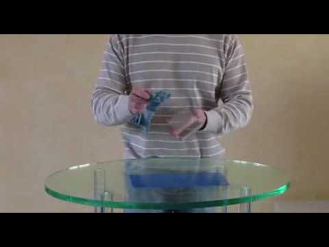 How to fix Acrylic * Fixation Foil * Fixierhaftfolie