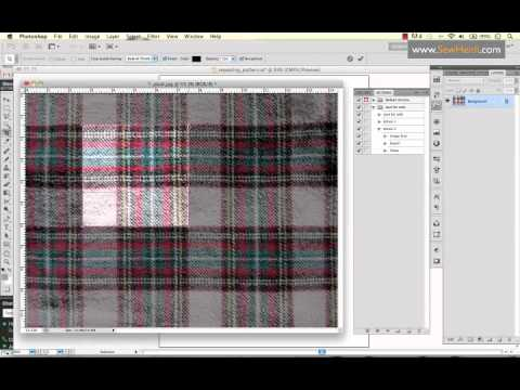 How to Turn an image into a Pattern Swatch in Illustrator and Keep Your File Size Small