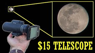 40X Phone telescope is hard to believe! Sample pictures and footage