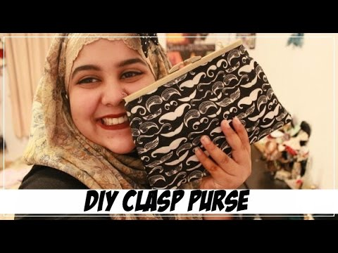 ✂ DIY Clasp Purse/Clutch