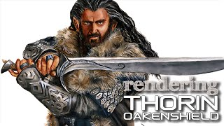 How To Draw Thorin Oakenshield In 7 Steps  The Hobbit The Desolation Of Smaug  Illustration