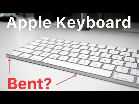 My Apple Magic Keyboard is Bent