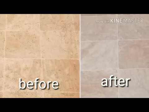 HOW TO CLEAN TILE FLOORS FAST with LYSOL cleaner