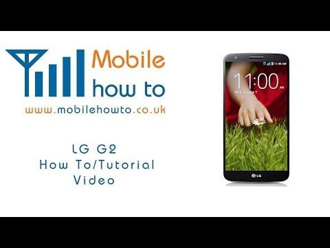 How To Set Custom Vibration -  LG G2