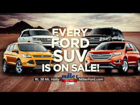 Miller Ford SUV Season Sign and Go Event October 2015