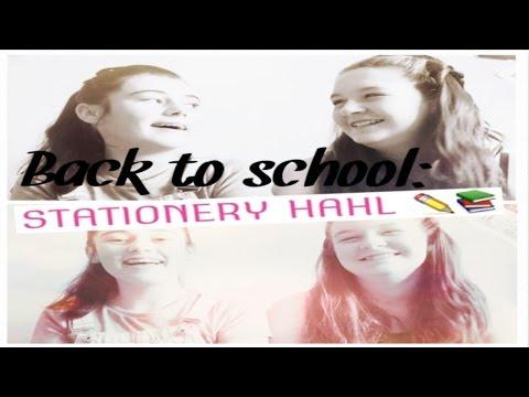 Back to school: STATIONERY HAUL!