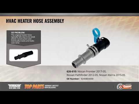 HVAC Heater Hose Assembly