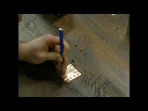 Reclaimed Wood Table Top Repairs: Copper Patching and Spline Stitching