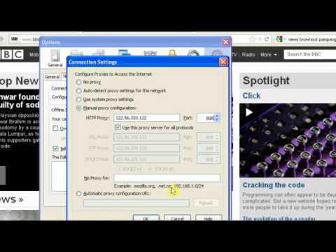 Watch UK TV Abroad How to set-up UK proxy in Firefox