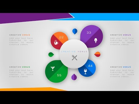 Creative Workflow, Process, Infographic Element Design in Microsoft Presentation PowerPoint PPT