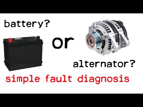 How To Test Car Battery and Alternator - Easy Multimeter Check For Dead Battery Or Faulty Alternator