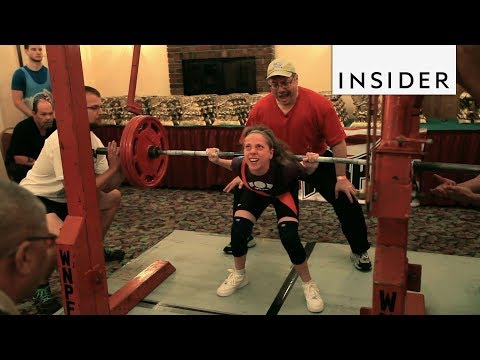 Teenager Is A Record-Breaking Powerlifter