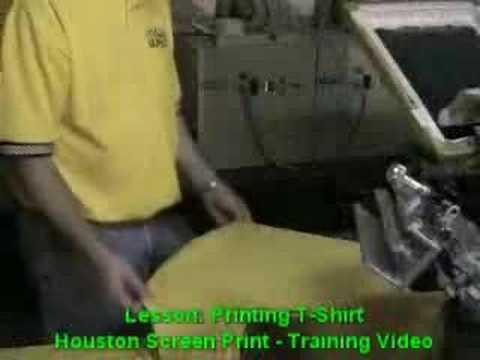 Learn To Screen Print Tshirts