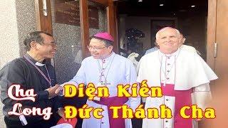 CHA LONG Diện Kiến ĐỨC THÁNH CHA Trong Cuộc Gặp Mặt Chung Các GM, LM và Tu Sĩ tại Thái Lan