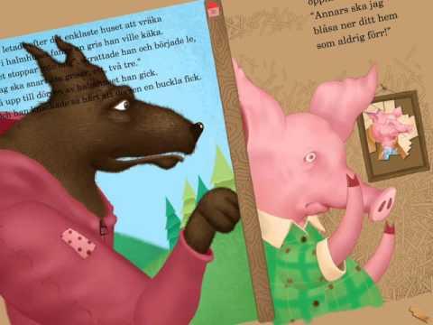 Tre Små Grisar - En interaktiv barnbok iPad