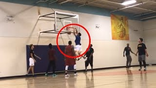 Lonzo, LiAngelo & LaMelo Ball DESTROY Opponents in Pickup Game