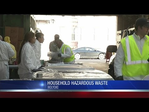 Get rid of household hazardous waste