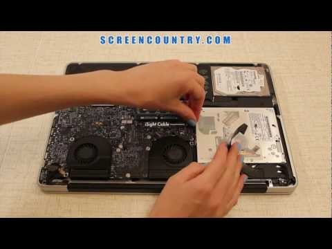 MacBook Pro 15 LCD Screen Step-By-Step Replacement Guide