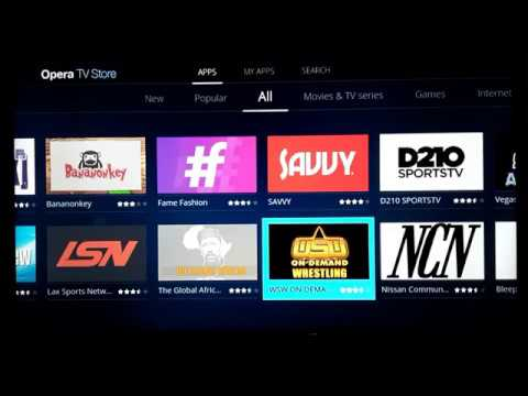 Luxor Smart Tv User Interface