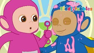 Tiddlytubbies NEW Season 2! ★ Episode 8: Tubby Custard Balls Pop! ★ Teletubbies Babies ★ Cartoons