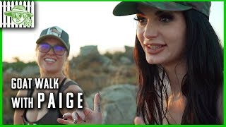 Ronda Rousey and WWE Paige Discuss Body Positivity | GOAT Walk #2