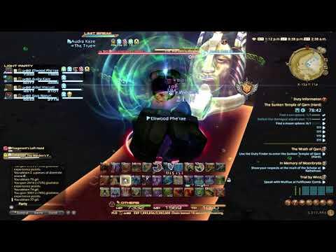 Final Fantasy XIV: Rey and Friends go through Qarn and Tam Tara (Hard)