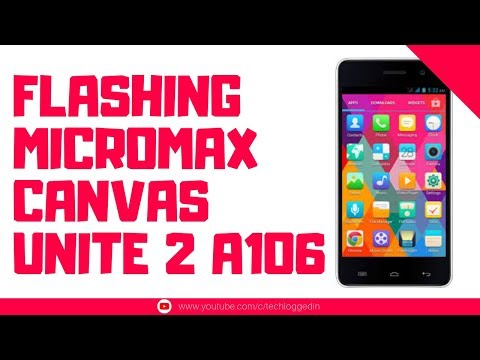 How to Flash Micromax Unite 2 A106 Stock Rom   SP Flash Tool   Mediatek   Smartphone Flashing